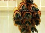 Rollitos fiambre pavo espárragos verdes