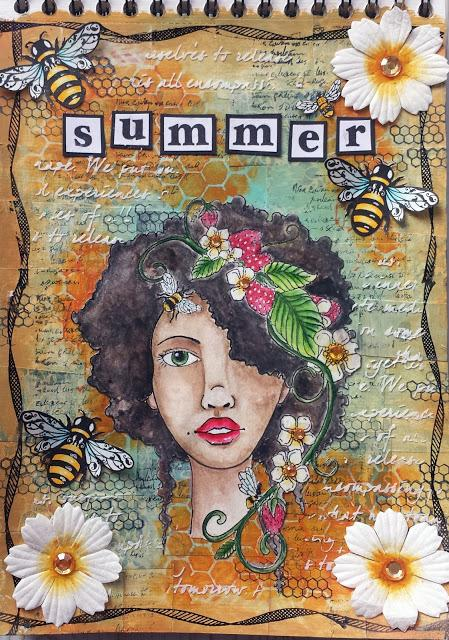 Mixed Media: Summer