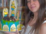 Cookie cake minions