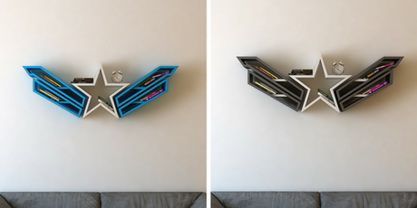Estanter as de superh roes para libros paperblog - Estanterias originales para libros ...