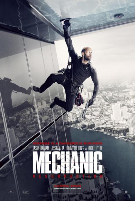 Trailer y afiche de Mechanic: Resurrection con Jason Statham