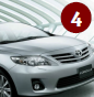 4- Toyota Corolla