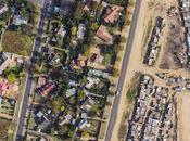 Tomas aéreas demuestran brecha entre ricos pobres Sudáfrica