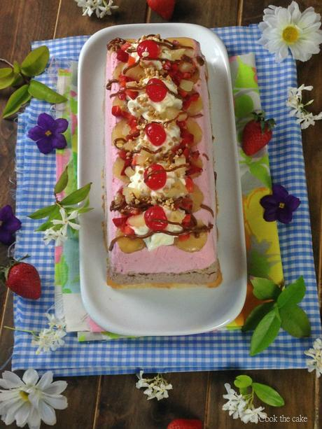 banana-split, banana-split-ice-cream-cake