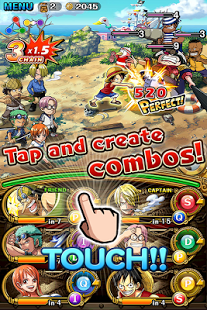 ONE PIECE TREASURE CRUISE v4.1.0 Apk Mod ataque + vida ilimitada