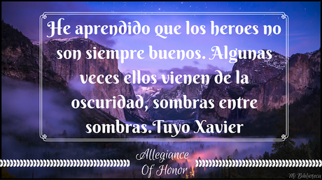 Citas Para Llevar #1: Allegiance of Honor