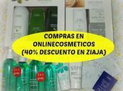 Compras Online Cosméticos (40% descuento ZIAJA)