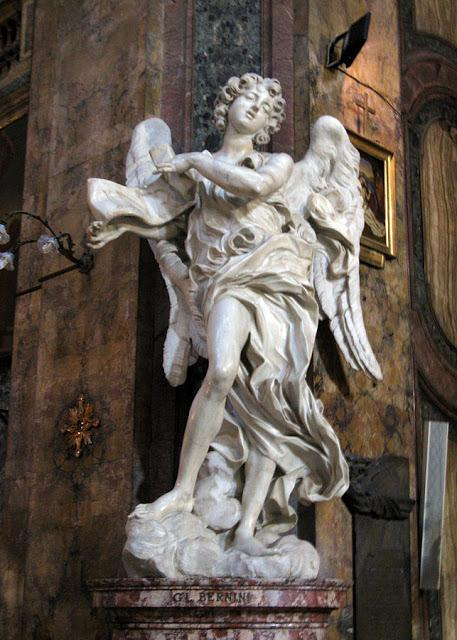 By Yair Haklai - File:Giovanni Lorenzo Bernini-Angel with the Superscription-Sant Andrea della Fratte.jpg (cropped), CC BY-SA 3.0, https://commons.wikimedia.org/w/index.php?curid=27697336