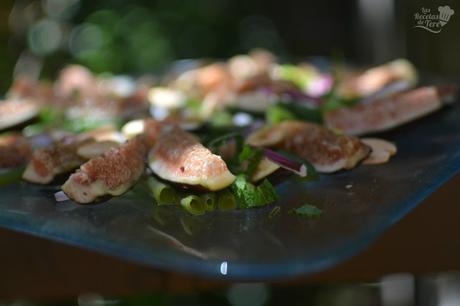 Ensalada de judias verdes e higos paperblog - Como hacer judias verdes ...