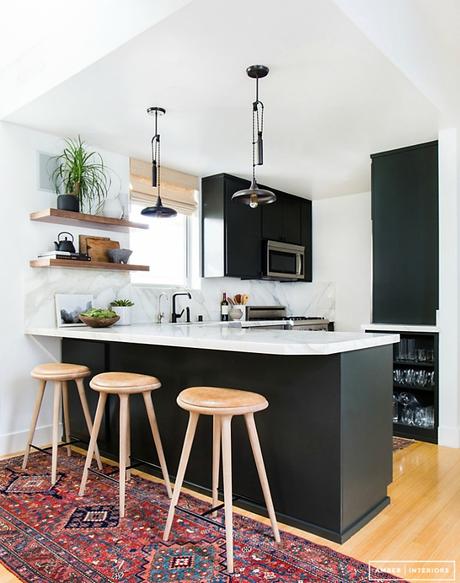 Medidas y consejos para instalar una barra en la cocina for Consejos de cocina