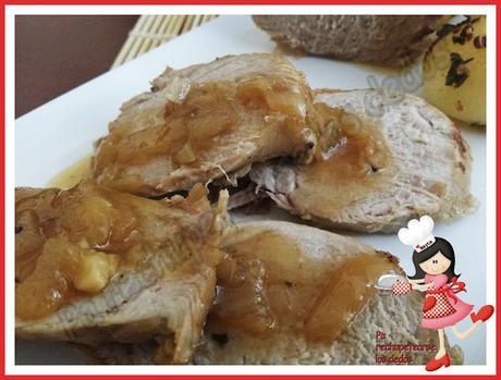 *Solomillo en salsa de cebollas (Olla GM-E  - Tradicional)