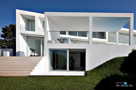 Casa contemporanea y minimalista en ibiza paperblog for Casa minimalista contemporanea