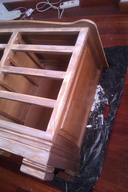 Mesa estudio madera casta o cambio de look paperblog - Madera de castano ...
