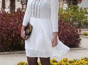 ¡Nuevo look! Vestido blanco