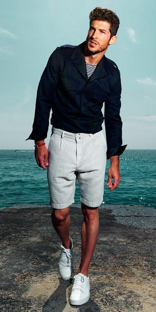 Bite The Bait, bermudas, shorts, lifestyle, spring 2016, Suits and Shirts, pantalones, sartorial, Tailored shorts, Made in Spain,