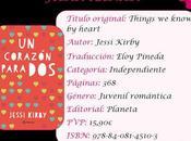"""Reseña corazón para dos"""", Jessi Kirby"""