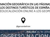 información geográfica páginas destinos turísticos España