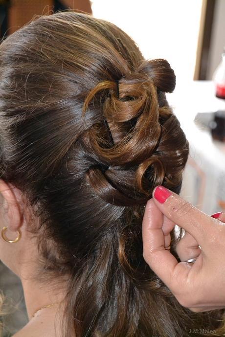 Peinado novia boda n y p paperblog - Lo ultimo en peinados de novia ...
