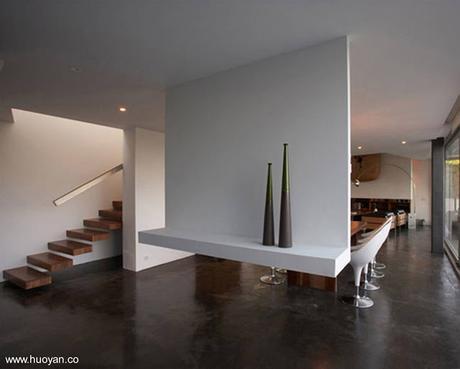 Los interiores de las casas modernas Paperblog