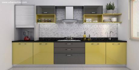 Los interiores de las casas modernas paperblog for M kitchen hyderabad