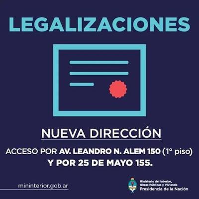 Legalización De Título En Ministerio Del Interior Nueva