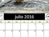 Calendario AeE-GEV. Julio 2016
