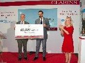 Premio Clarins Mujer Dinamizante 2016 Donativo Aldeas Infantiles
