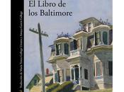 libro Baltimore, Joël Dicker