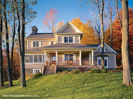 Planos de casas de campo paperblog for Planos de casas de campo de un piso