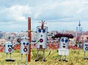 (diy) robots objetos reciclados pintura efecto forja