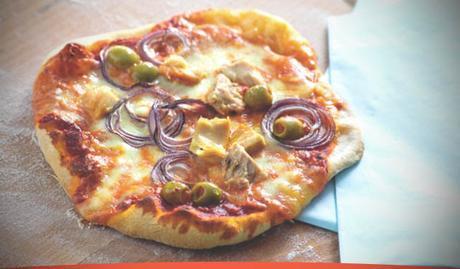 Receta Pizza al Tonno