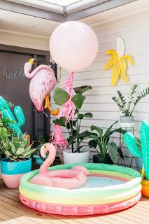 flamingo birthday party ideas letus flamingle ideas para decorar cumpleaos flamencos