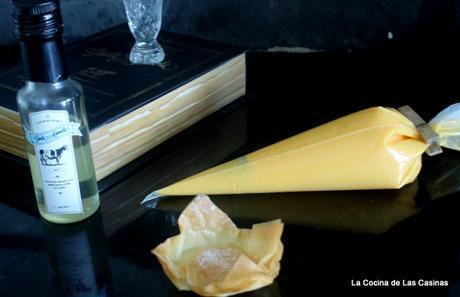 Tartaleta de Crema de Naranja con Licor de Leche Güela Manuela