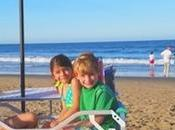 carro playa ideal para llevar niñ@s