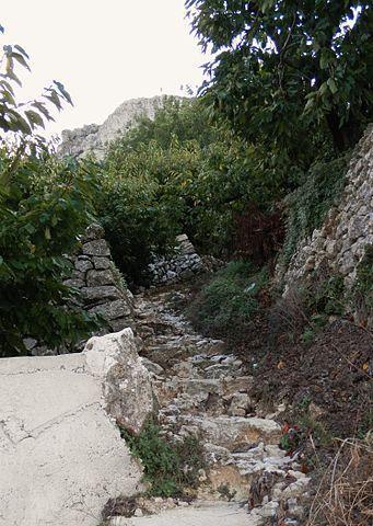 Ruta El Blau V 1.0 por el Vall de la Gallinera en Alicante