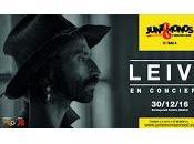 Concierto Leiva Madrid mano Juntémonos