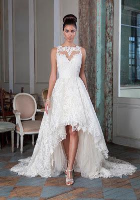 9236404731627 Hermosos vestidos de novia cortos 2016 - Paperblog