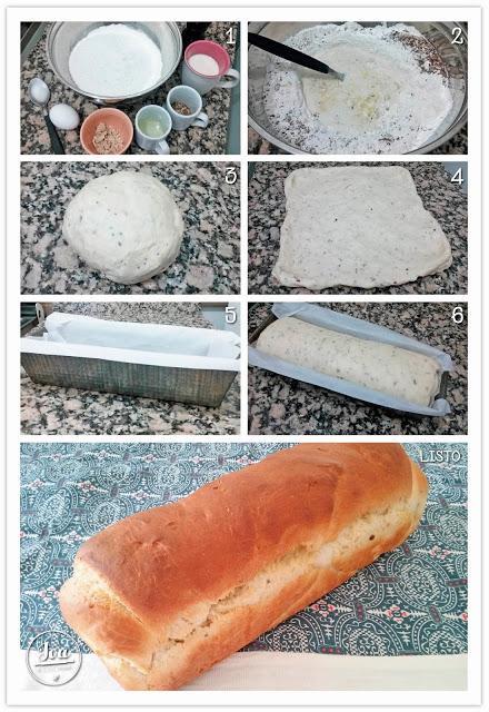 Pan casero con semillas