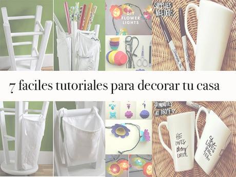 7 tutoriales facil para decorar tu hogar paperblog for Renovar tu casa reciclando