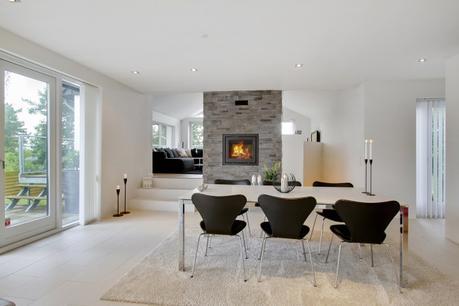 villa danesa funcional y elegante muebles diseo lamparas diseo estilo nrdico decoracin minimalista decoracin en blanco