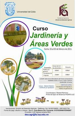 Curso jardineria y areas verdes maracaibo paperblog for Curso de jardineria