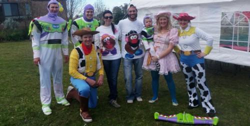 Fiesta infantil con super héroes