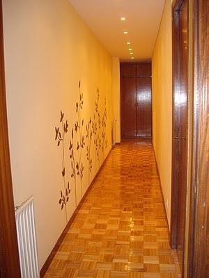 Maite y el dilema con el pasillo largo paperblog - Decorar pasillos largos ...