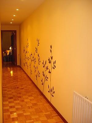 Maite y el dilema con el pasillo largo paperblog for De que color es el oscuro y estrecho pasillo