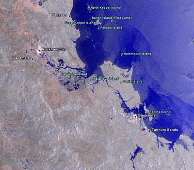 Las inundaciones de Australia vistas desde el espacio