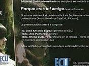 Porque eres amiga Pomares ECU: Presentación Sede Universitaria Alicante