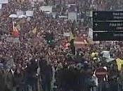 Escenarios protestas: Bélgica, Túnez, Tailandia Albania