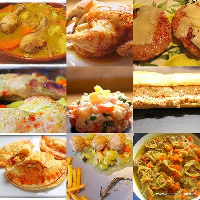 9 maneras diferentes de cocinar pollo paperblog