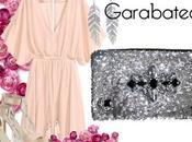 Como combinar vestido nude bolso joya lentejuelas color plata