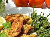 Pollo empanado hierbas